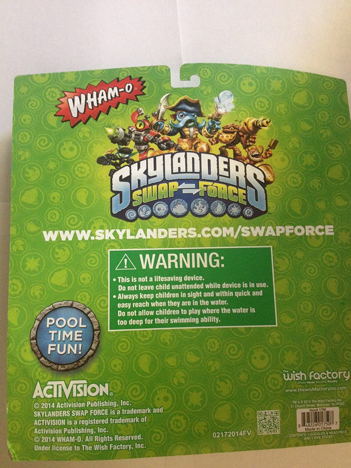 Skylanders Swap-force Goggle and Dive Stick Set by The Wish ...