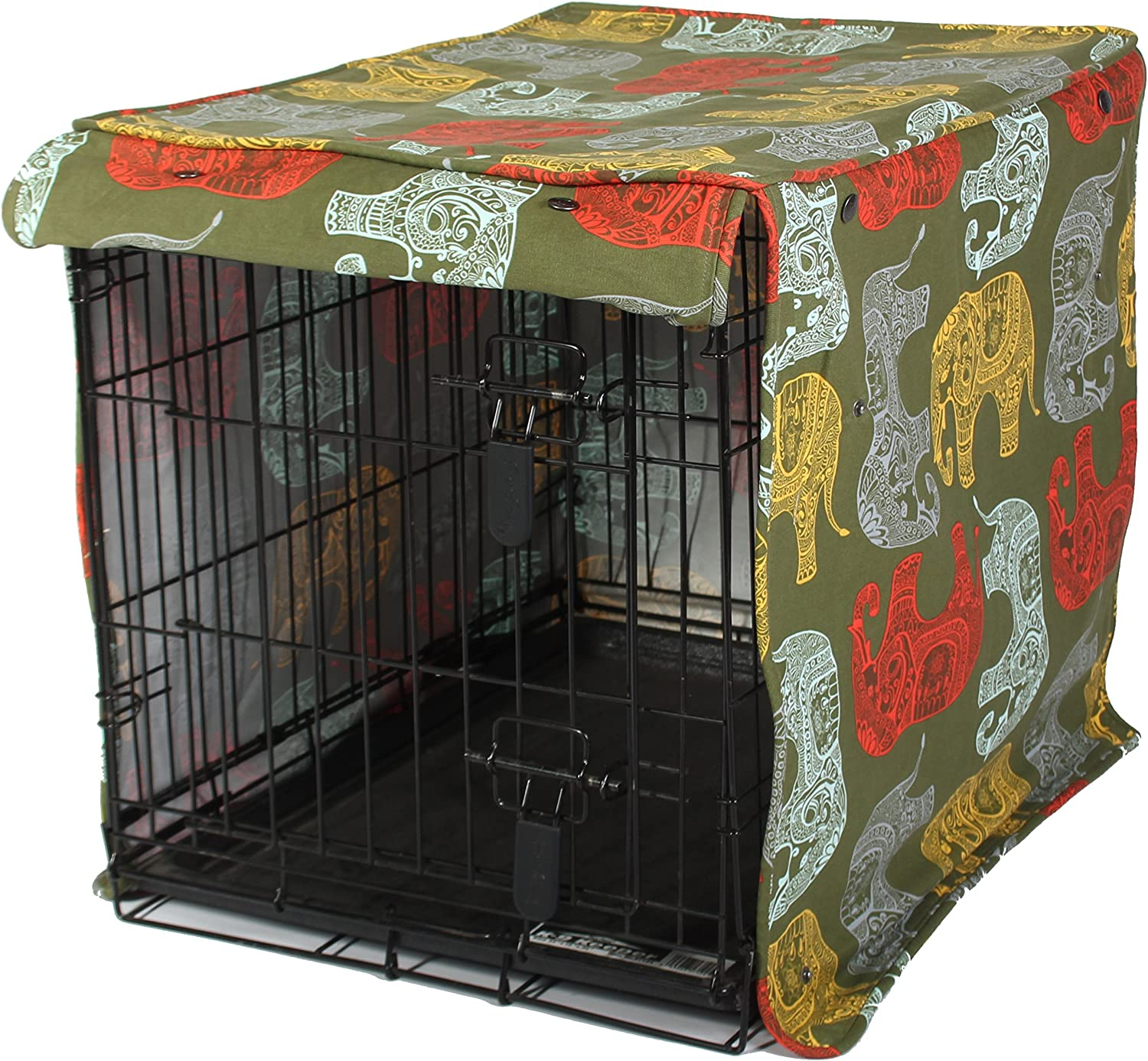Molly Mutt Dog Crate Cover - Dog Kennel Cover - Dog Crates Cover - Cover for Dog Crate - Create A Dog Crate That Looks Like Furniture - Small Kennel Cover - Fabric Crate Cover - Dog Kennel Covers