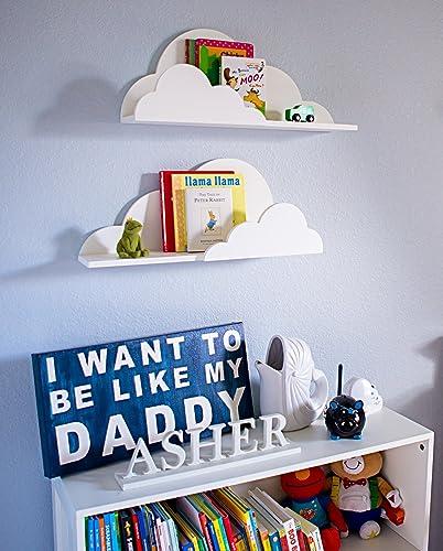 Amazon.com: Cloud Shelf for Kids Room Baby Nursery Wall Decor ...