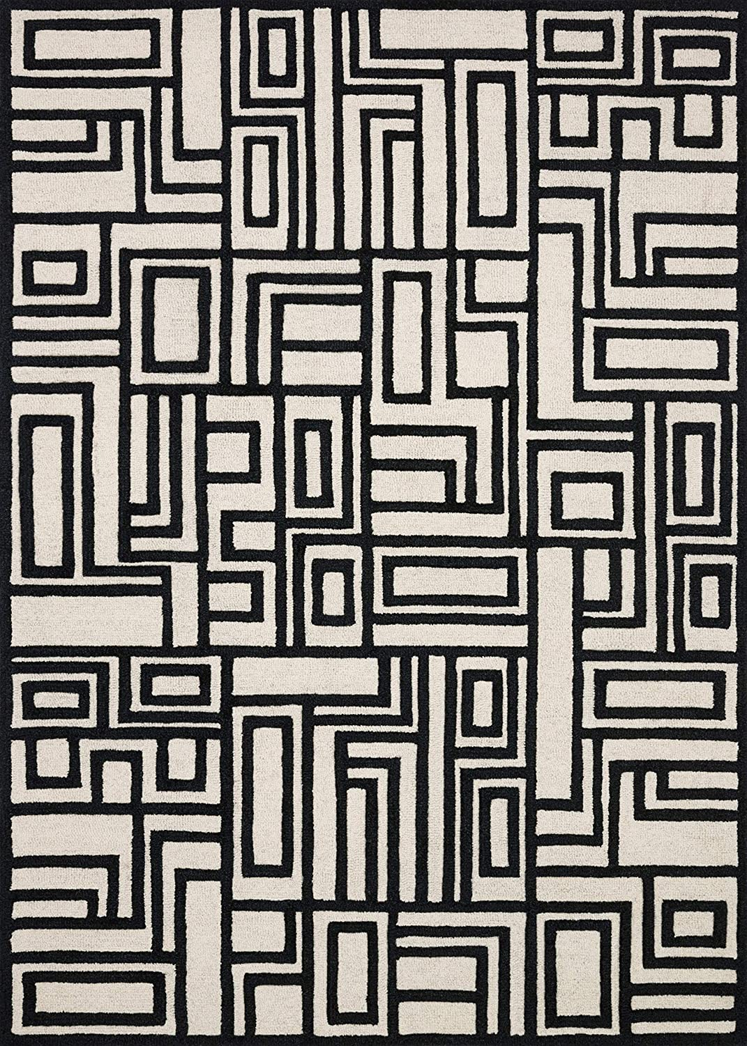 Now House by Jonathan Adler Blocks Collection Area Rug, 3'6