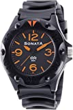 Sonata Analog Black Dial Men's Watch - ND7975PP02