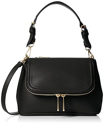 Aldo Womens Calibano Shoulder Bag Black (Black)  Amazon.co.uk  Shoes ... 71c6f76fdc13e
