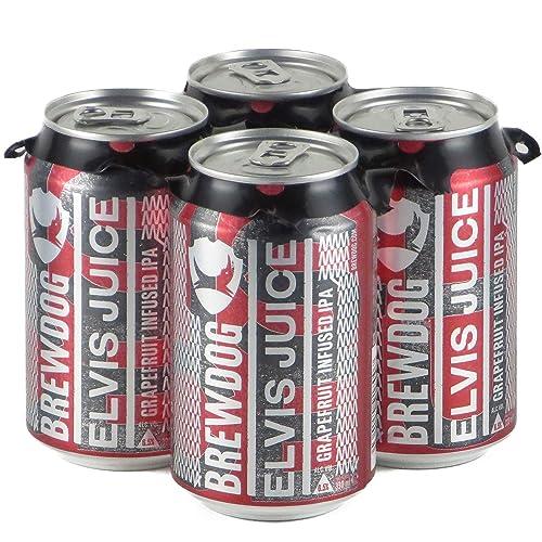 ブリュードッグ エルビスジュース 330ml 4缶セット