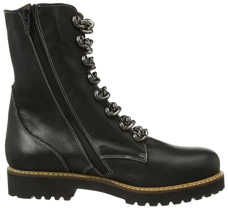 Accatino Damen 961489 Kurzschaft Stiefel, Schwarz (schwarz