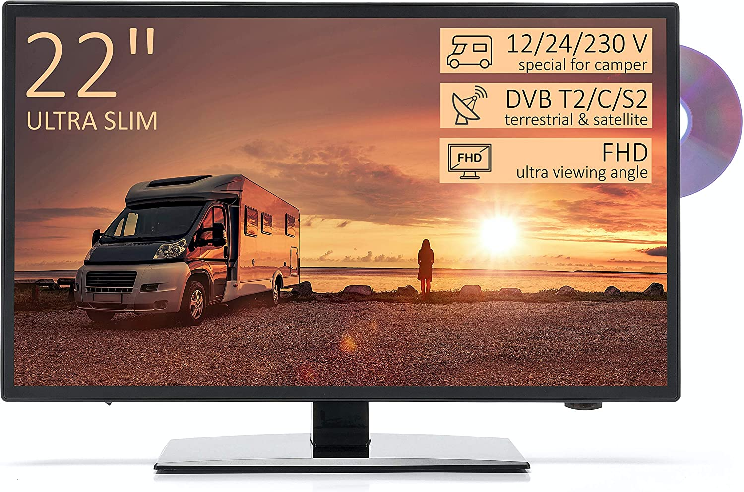 TV Full HD 22