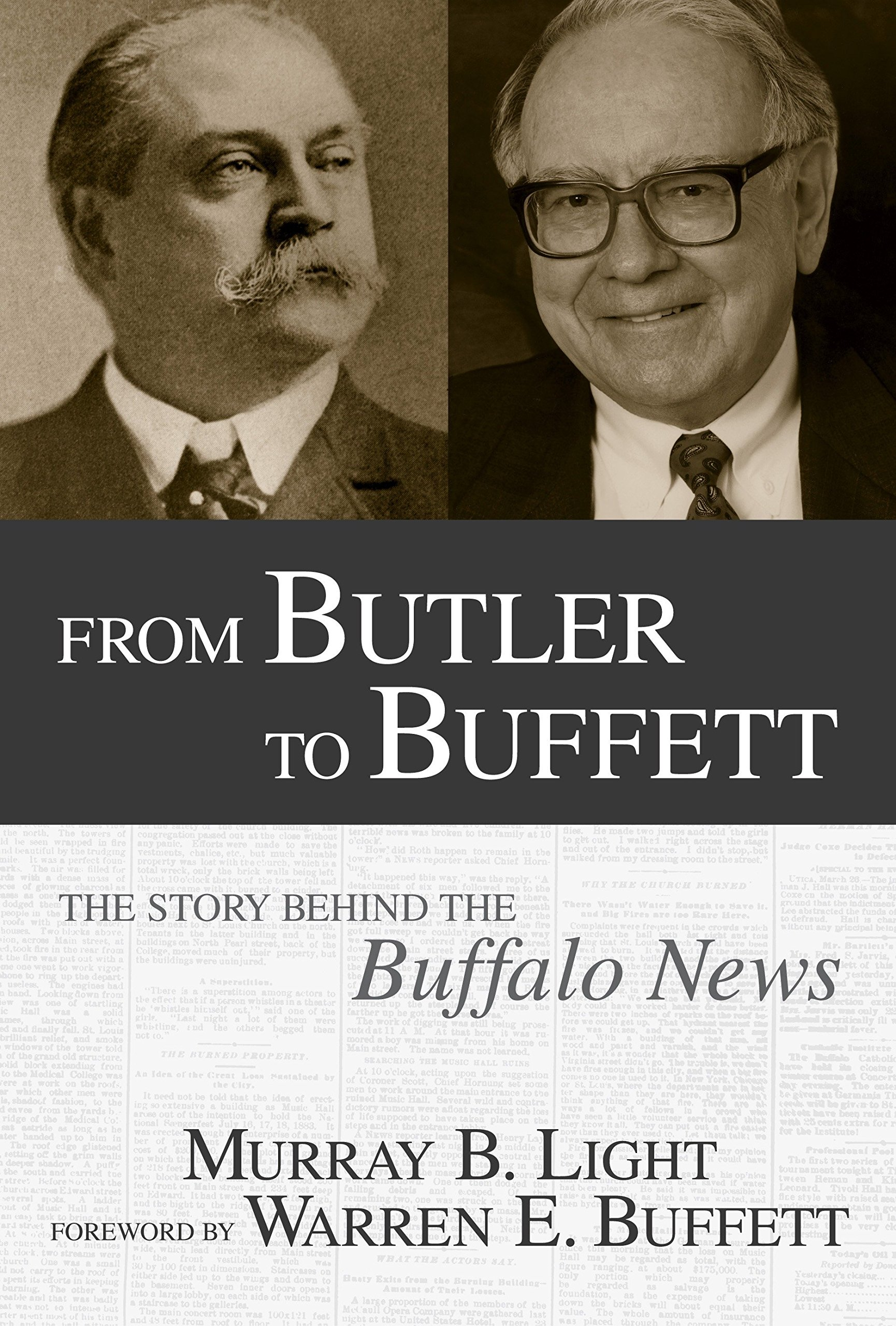 Read Online From Butler to Buffett: The Story Behind the Buffalo News pdf epub