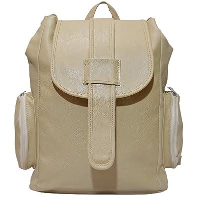 YOTOVA A8 Fancy Stylish Trendy Backpack for Women (Beige)  Amazon.in  Shoes    Handbags 11e5d1d1f11b8
