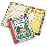 Deluxe School Memories Keepsake Photo Album Scrapbook from Preschool Through 12th Grade