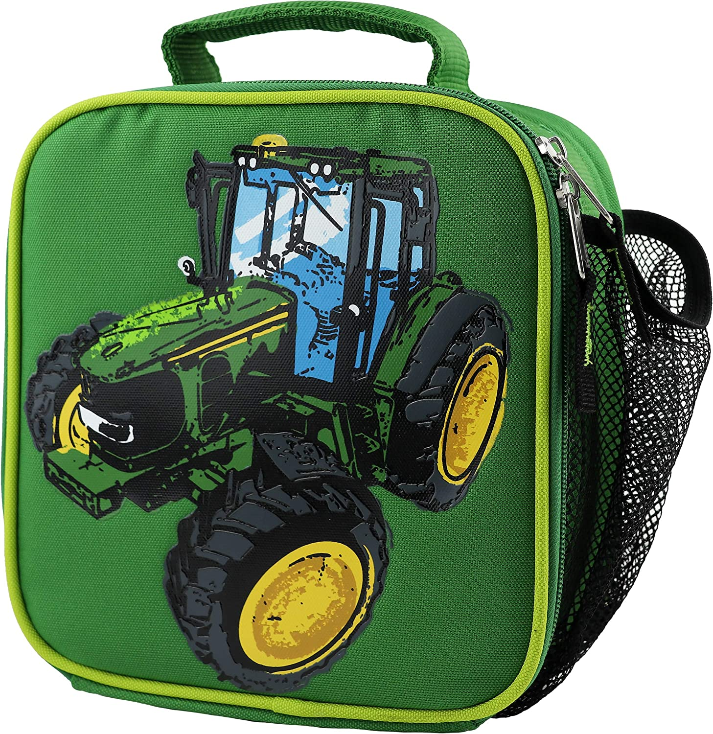 John Deere Boys' Child Tractor Lunchbox, Green