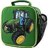 John Deere Boys' Child Tractor Lunchbox, Green