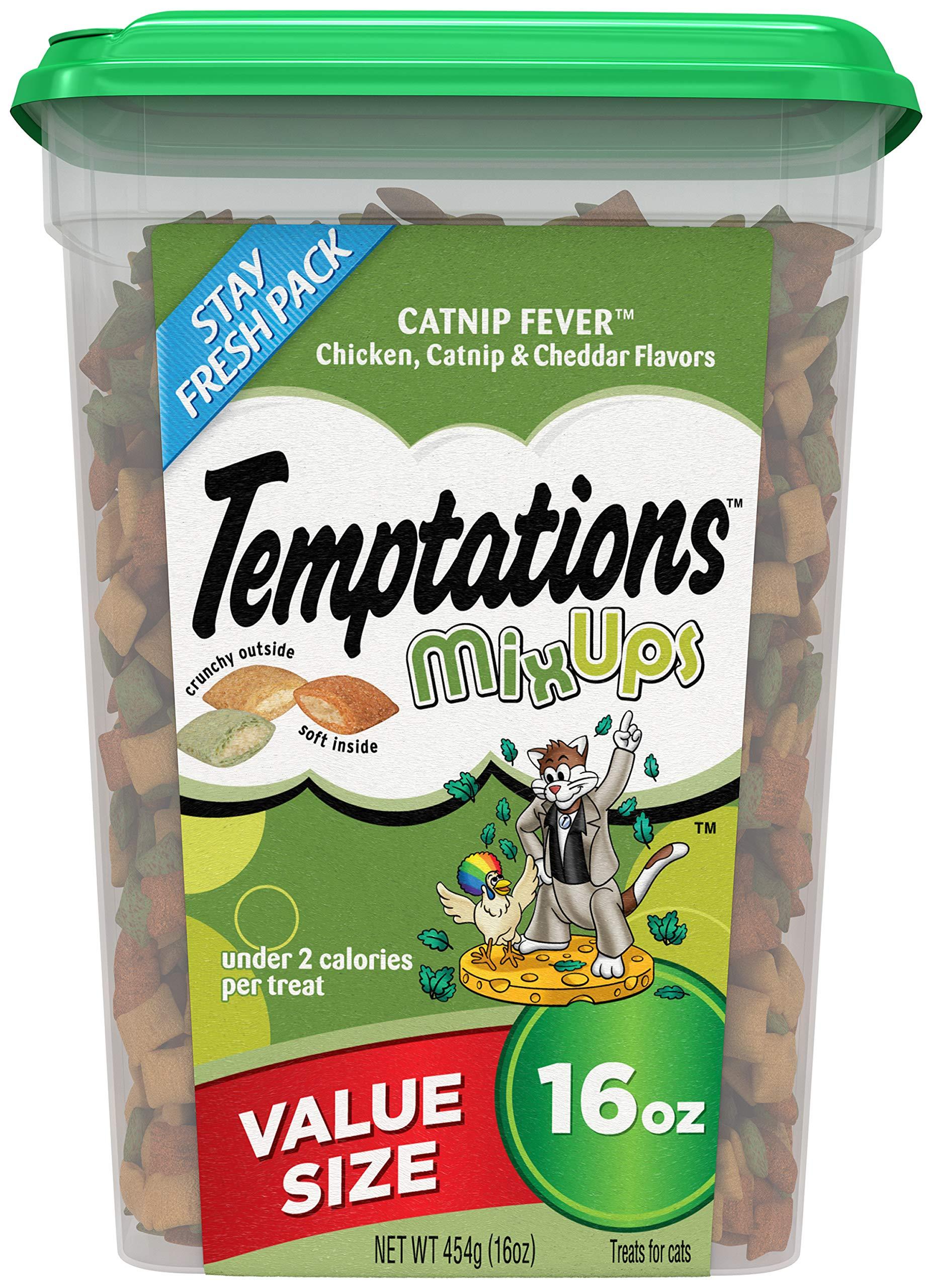 TEMPTATIONS Mixup Treats for Cats 16 ounces