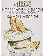 Gourmet du Village Horseradish Bacon Dip Recipe Box, 0.7 Ounces