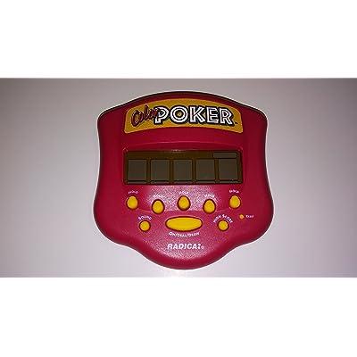 Radica Color Poker Handheld Game(1999 version, Radica): Toys & Games