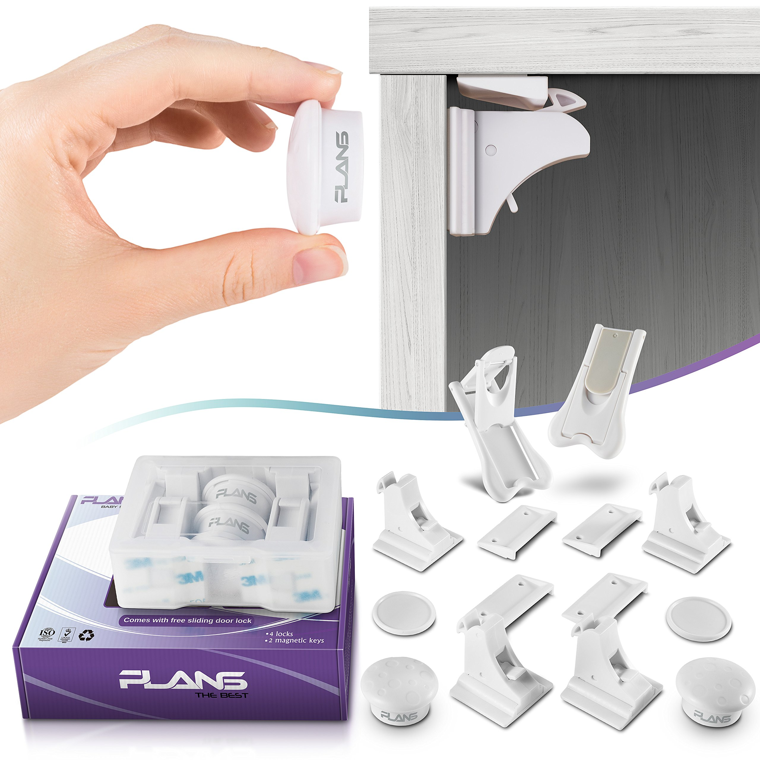 Plans Best Baby Safety Magnetic Cabinet Lock Set Child