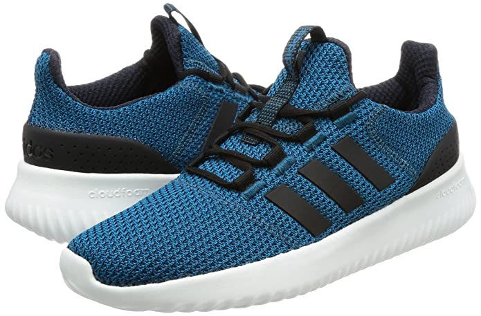 adidas Neo Mens Cloudfoam Ultimate Trainers Blue