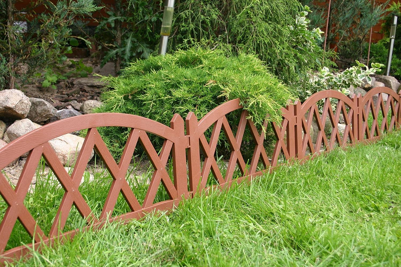 Sommeraktion Zaun Rasenkante Beeteinfassung Palisade Gartenzaun