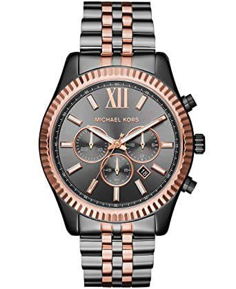 3798605c1626 Amazon.com  Michael Kors Men s Lexington Grey Watch MK8561  Watches