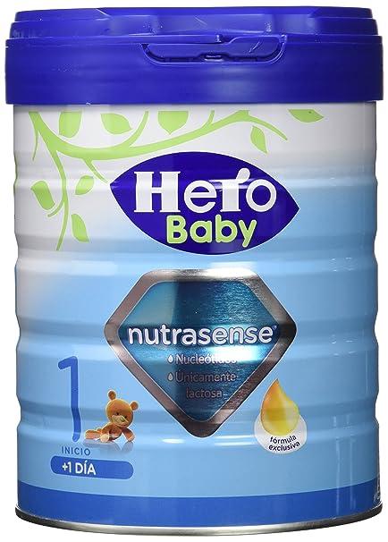 Hero Baby Leche Nutrasense, 1-0 a 6 Meses - 800 g