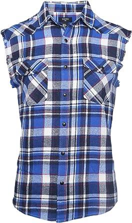 SOOPO Camisa Hombre a Cuadros Shirt sin Manga Estampado de Cuadros de Colores para Hombre, Camiseta Bonita y Cómoda para Verano, Diversos Colores y Tallas: Amazon.es: Ropa y accesorios