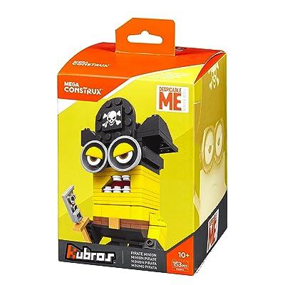 Mega Construx Kubros Despicable Me Pirate Minion Building Kit: Toys & Games