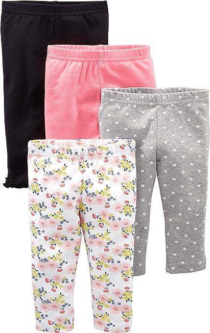 Navy 3 a/ños ,Pink Pantalones cortos para bicicleta 3 unidades Simple Joys by Carters