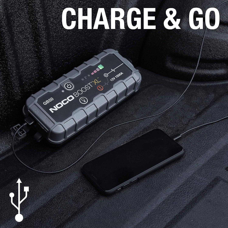 Avviatore demergenza automatico con batteria al litio da 4000 amp 12V NOCO Genius Boost Pro GB150 estremamente sicuro