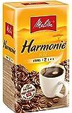 Melitta Gemahlener Röstkaffee, Filterkaffee, feines Aroma, milder Röstgrad, Stärke 2, Harmonie Mild, 1 x 500 g