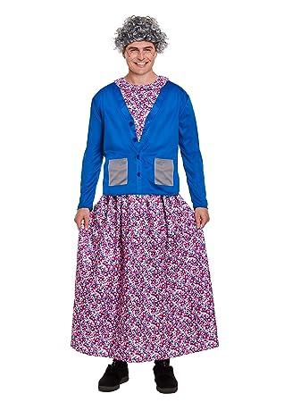 Emmas Wardrobe Traje del Vestido Granny Fantasía para ...