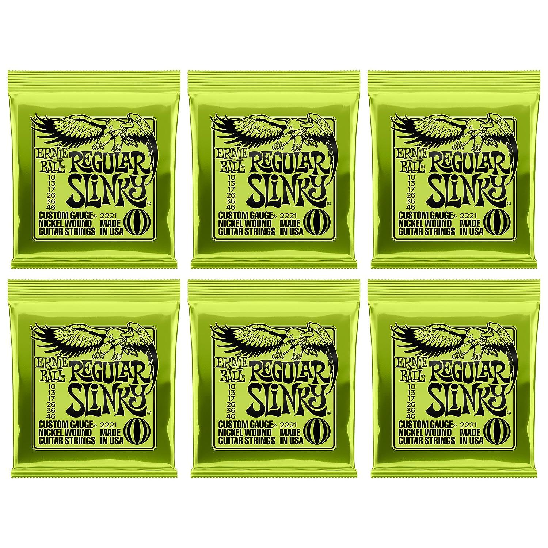 calibre 9-46 Jeu de cordes pour guitare /électrique Ernie Ball Hybrid Slinky Nickel Wound