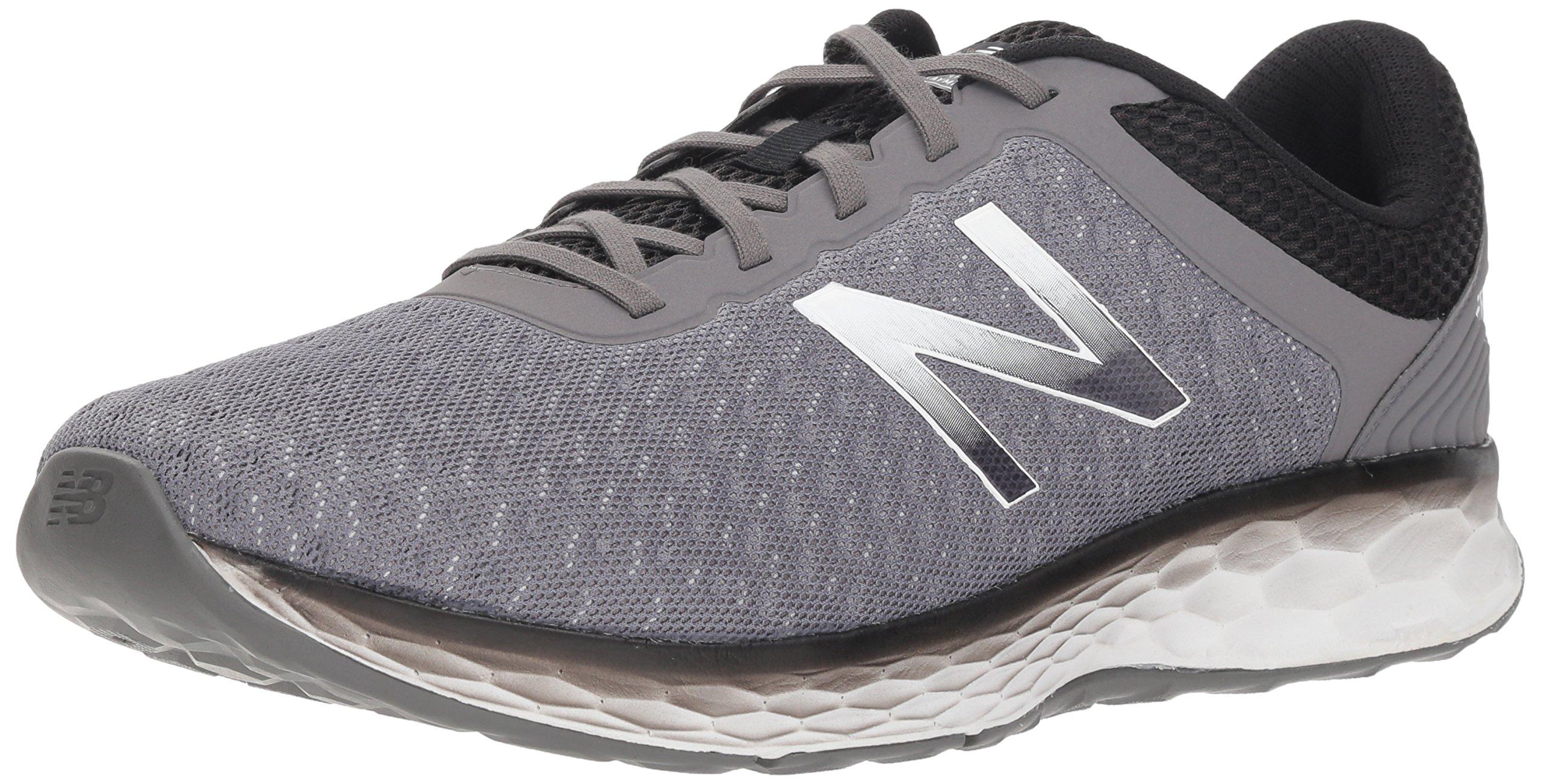 New Balance Men's Kaymin V1 Fresh Foam Running Shoe, Grey/Black, 7 D US