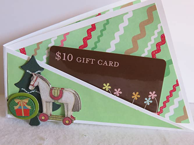 Amazon Com Twisted Hobby Handmade Gift Card Holder Give One Or