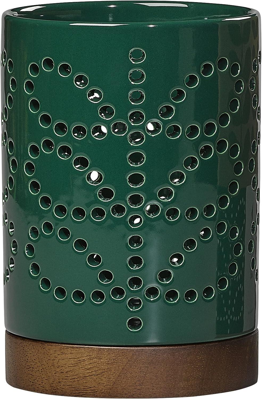 Verde Default Title Orla Kiely Farol de cer/ámica en tallo lineal Evergreen