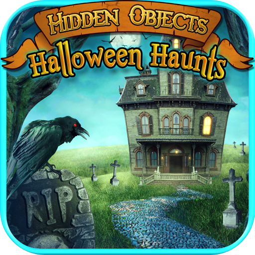 (Hidden Objects Haunted Halloween)