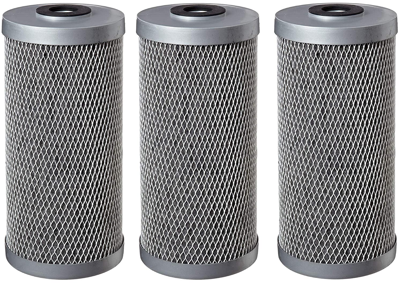 20-Inch x 4-5//8-Inch Pentek FloPlus-20BB Carbon Block Filter Cartridge 0.5 Micron