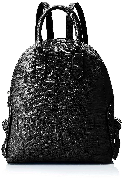 Trussardi Jeansメリーバックパック、レディース、ブラック(Nero)、26.5 x 30 x 11 cm(W x HL)   B07KTB7YM9