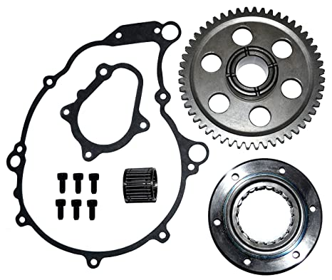 Amazon Com One Way Bearing Starter Clutch Gear Gasket Kit Set Fits