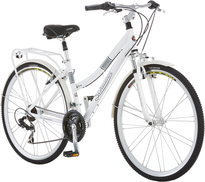 Schwinn Discover Hybrid Bikes for Men and Women