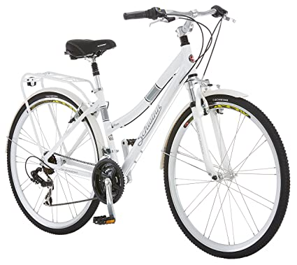 Amazon.com : Schwinn Discover Hybrid Bicycle, 700c/28 inch wheel ...