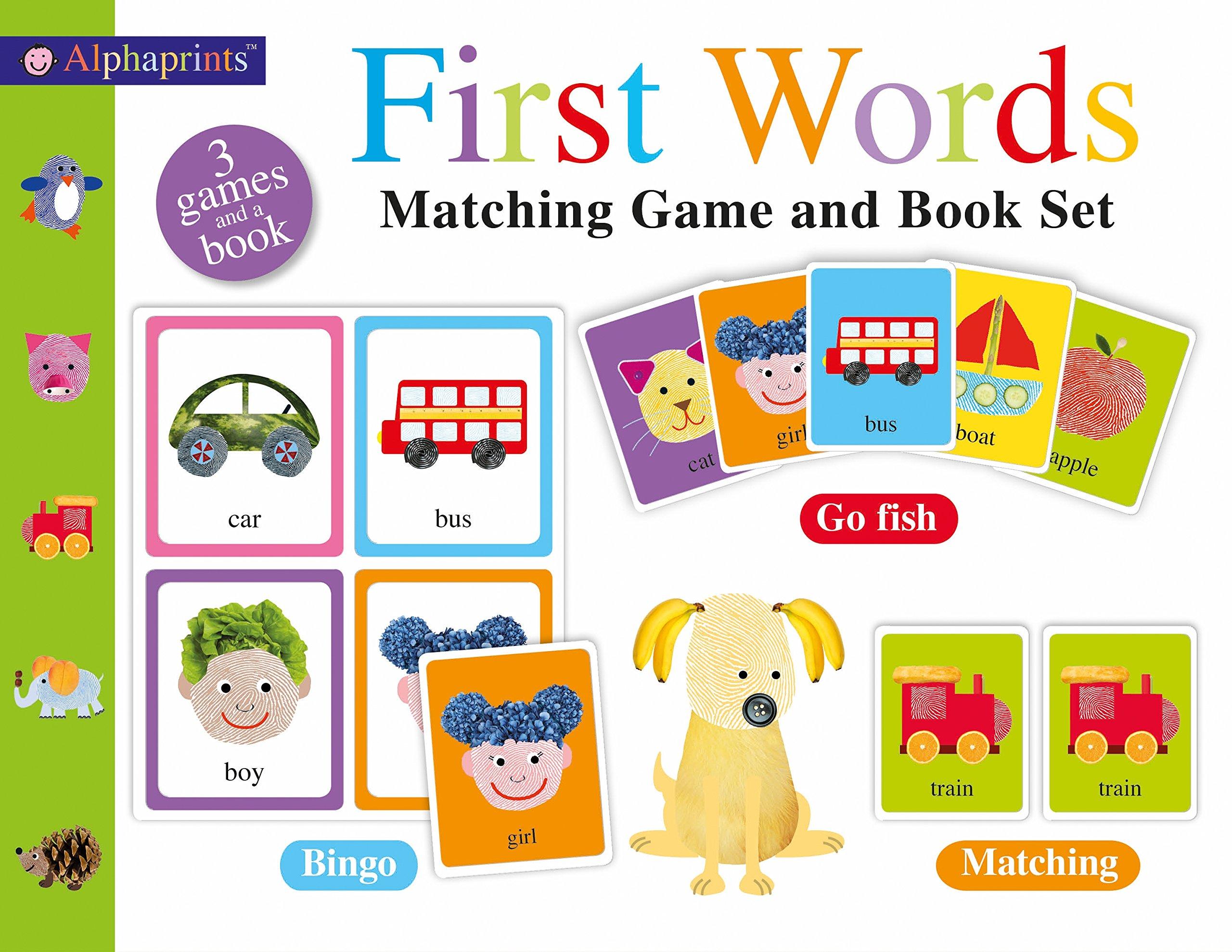 Alphaprints First Words Matching Set