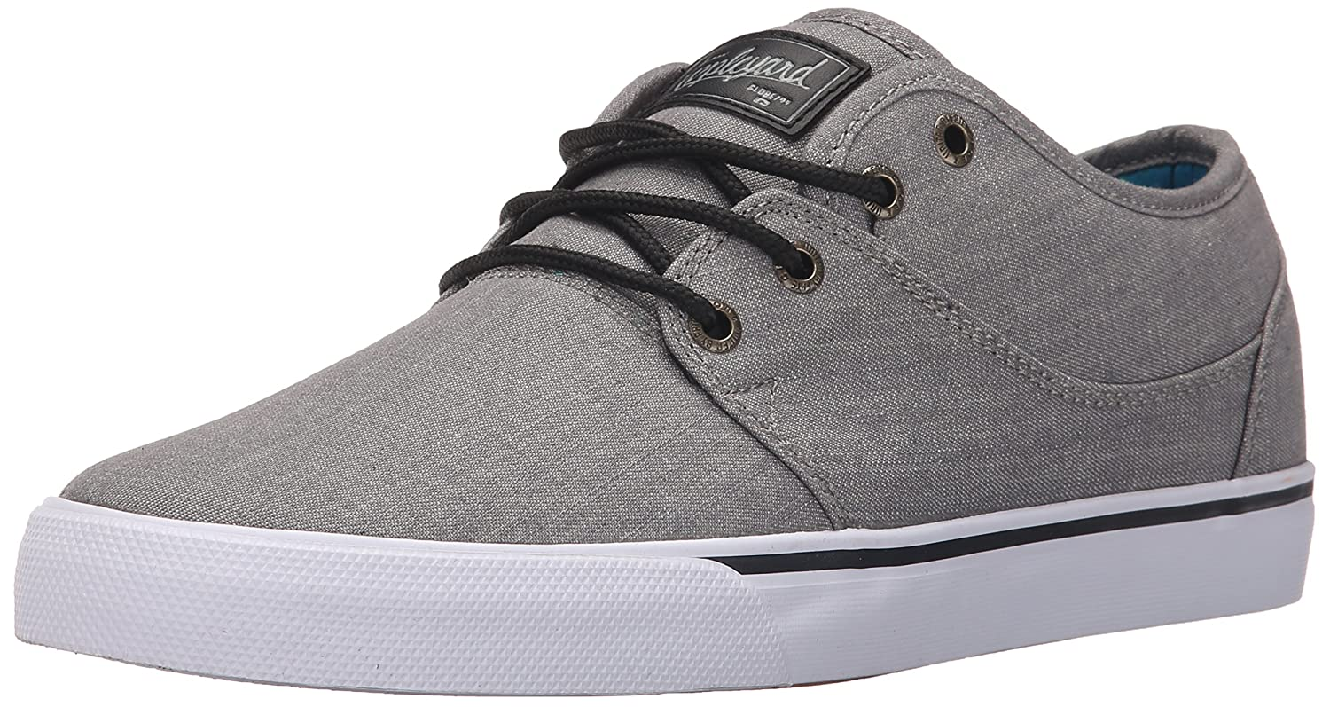 Globe Men's Mahalo Skate Shoe 7 D(M) US|Grey Chambray