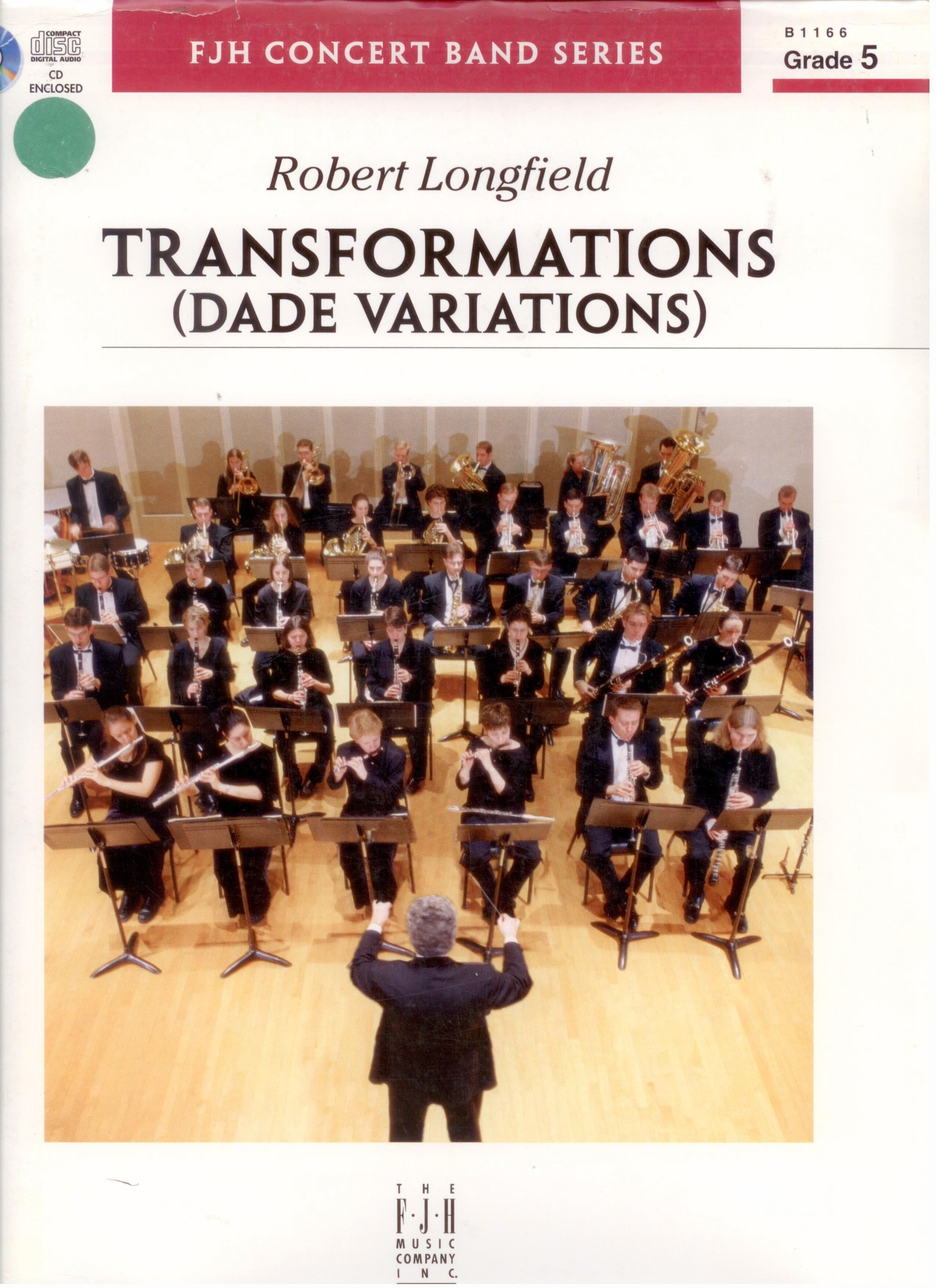 """Read Online """"Transformations (Dade Variations)"""" for Concert Band (Complete Set--Conductor Score, Parts, and CD) (Grade 5, B1166) PDF"""