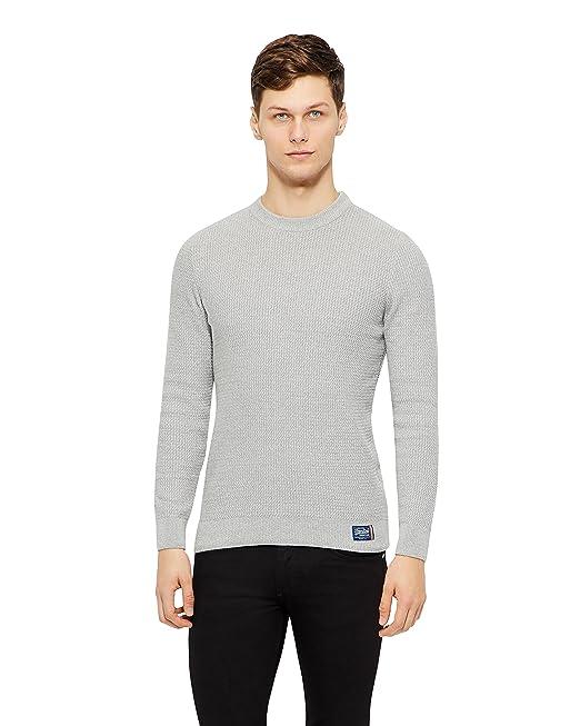 7e1f38fea410 Superdry - Maglione - Uomo Grey X-Large  Amazon.it  Abbigliamento