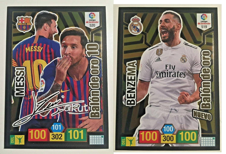 Messi Firmado + Benzemá Nuevo balón de Oro: Amazon.es: Juguetes y ...