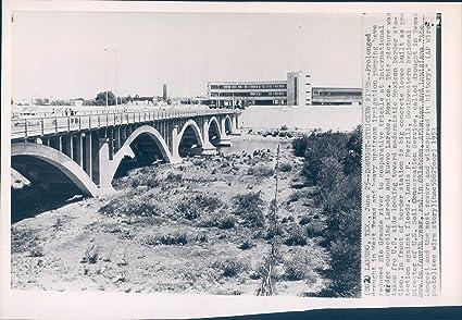 Amazon com: 1953 Wire Photo Landscape West TX Irrigation
