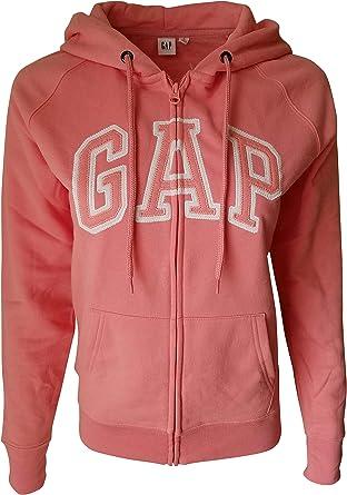 Gap Sweat à Capuche avec Fermeture à Glissière Et Logo en