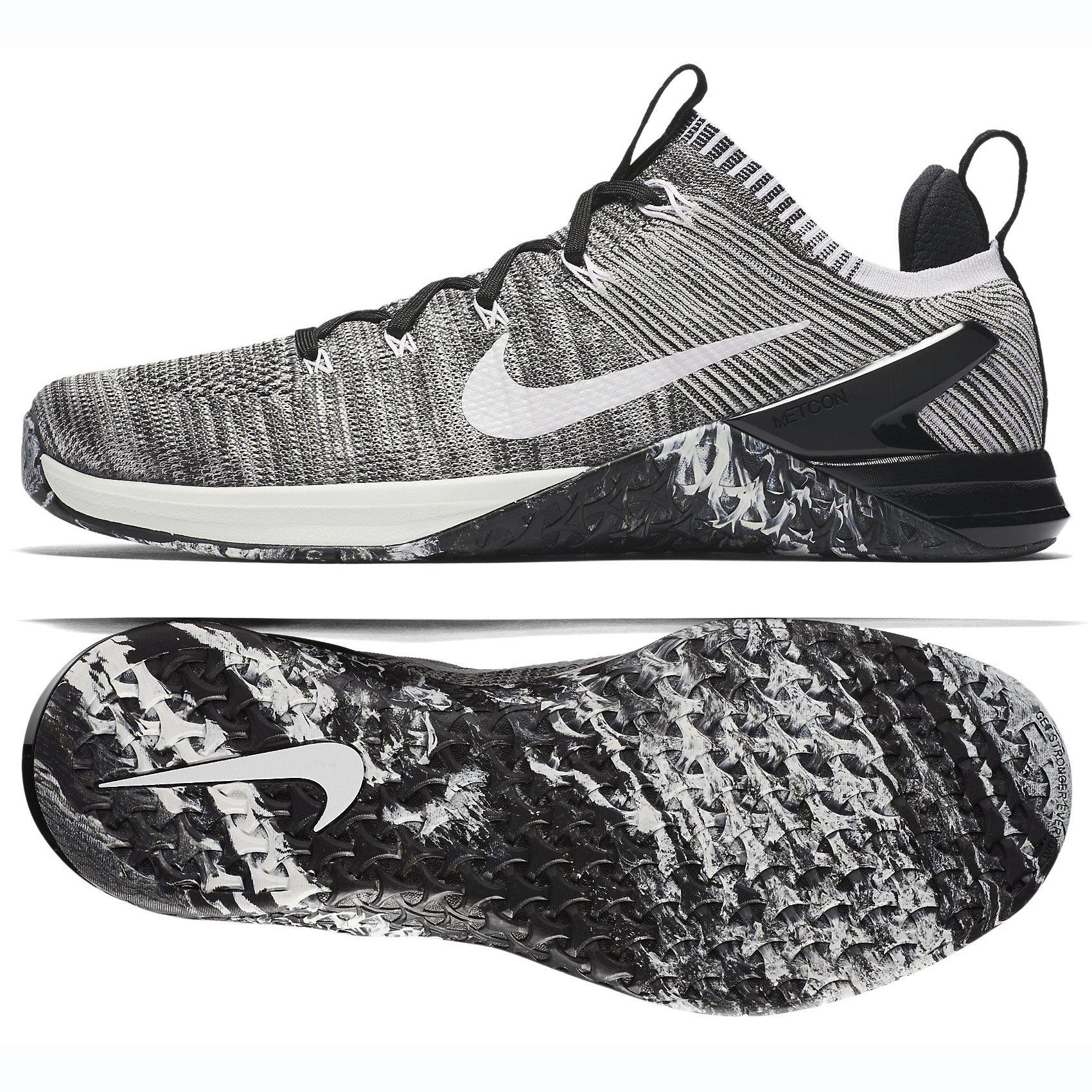 best sneakers c6747 a19e8 Galleon - Nike Men s Metcon DSX Flyknit 2 Matte Silver Sail Light Silver  Nylon Running Shoes 10.5 D US