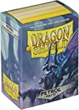 Dragon Shield Deck Protective Sleeves for Gaming Cards, Standard Size (100 sleeves), Matte Petrol