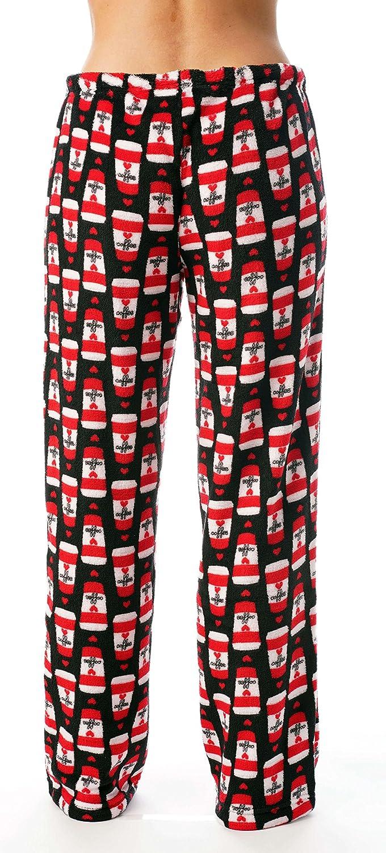 8c369e341c11 Just Love Women s Cute Character Print Plush Pajama Pants - Petite to Plus  Size at Amazon Women s Clothing store