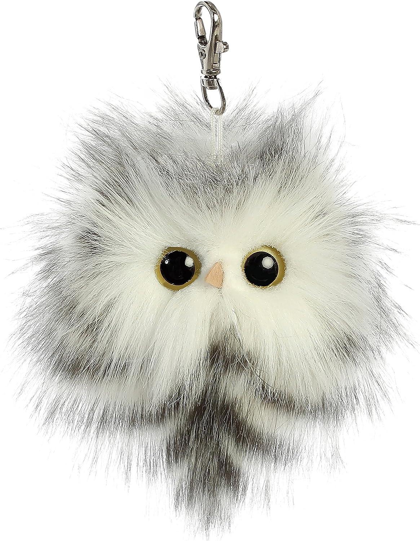 "Aurora Barney Great Horned Owl 9/"" Plush Bird Stuffed Animal Toy Toy Play Soft Ne"