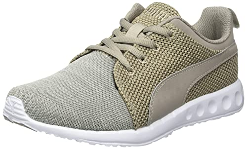Unisex Adults Carson Runner Mid Eea Running Shoes, Black Silver Puma